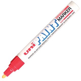 Paint Marker 2.2-2.8 mm. Red Uni PX-20