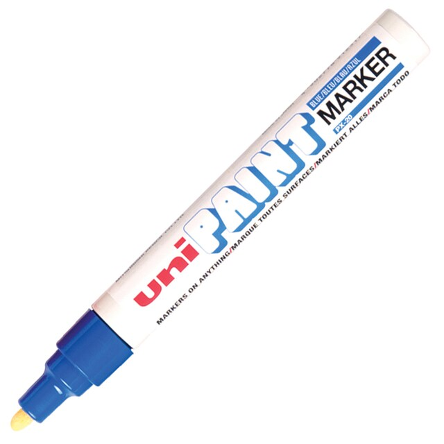 Paint Marker 2.2-2.8 mm. Blue Uni PX-20
