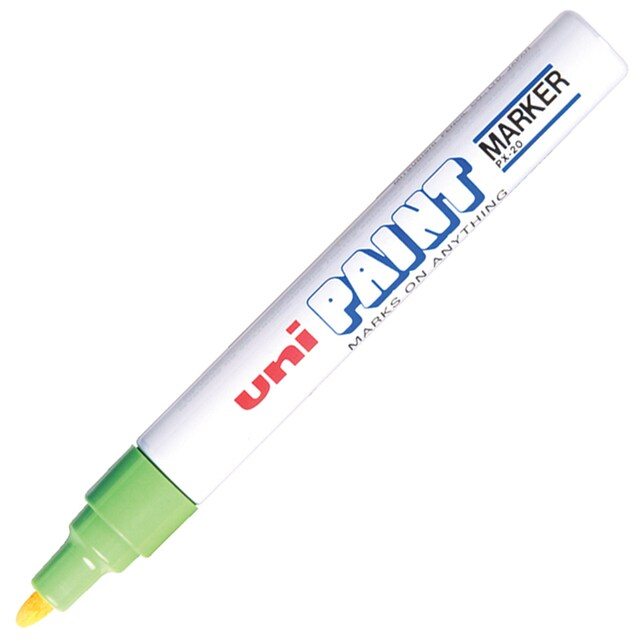Paint Marker 2.2-2.8 mm. Green Uni PX-20