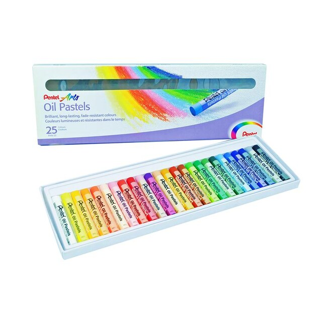 25 Chalk Colour (25/Box) Pentel PHN
