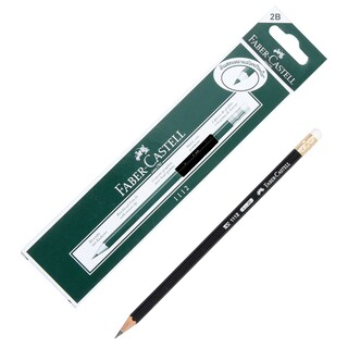Pencil 2B (12/Box) Faber-Castell 1112