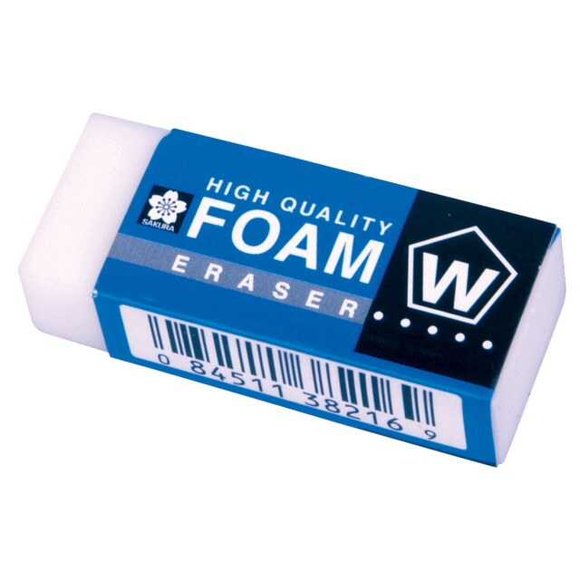 Pencil Eraser Big Sakura Foam XRFW-100