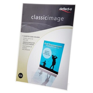 Brochure Holder Stand Vertical A4 Deflect-o 47401-TL