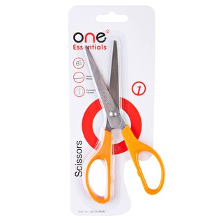 "Scissors 6 3/4"" Orange ONE G1"