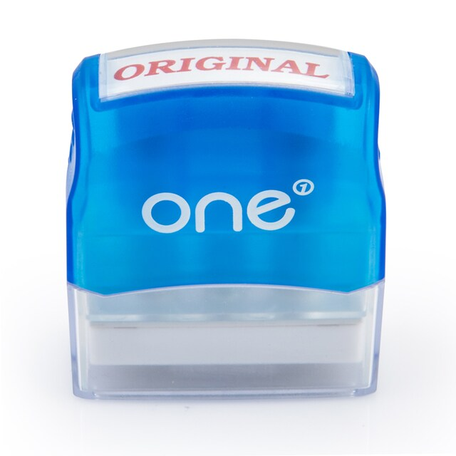 ONE Pre-lnked Rubber Stamp ORIGINAL