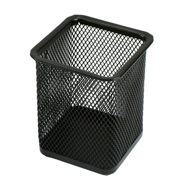 ONE H-8014 Square-Shaped Steel Box Black