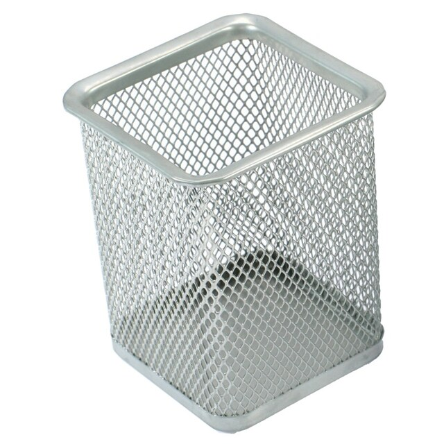 ONE H-8014 Square-Shaped Steel Box Silver