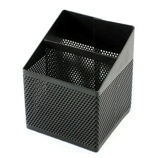 Square-Shaped Pen Holder Black ONE H8004