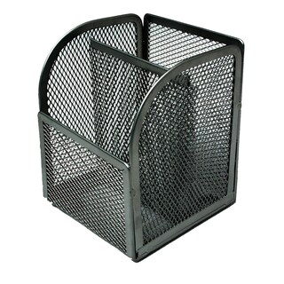 2-Compartment Multipurpose Wire Rack Black ONE H-8009