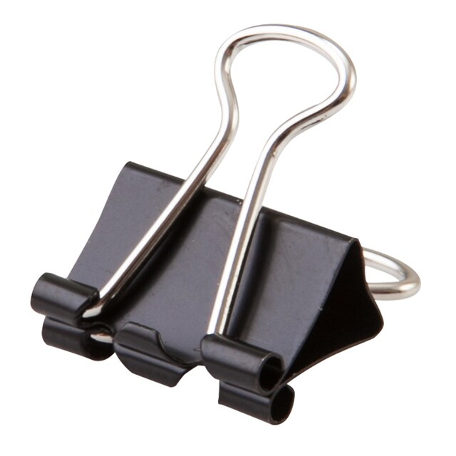 Binder Clip 15 mm. (12/Boxes) Horse No.113