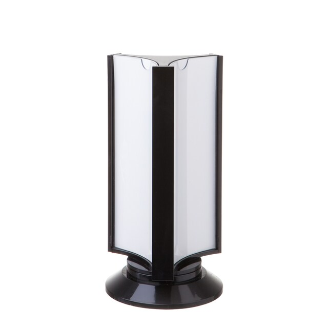 ONE K-187 Rotating Display Stand 1/3 A4 Black