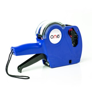 8 Digit Price Labeller Blue ONE