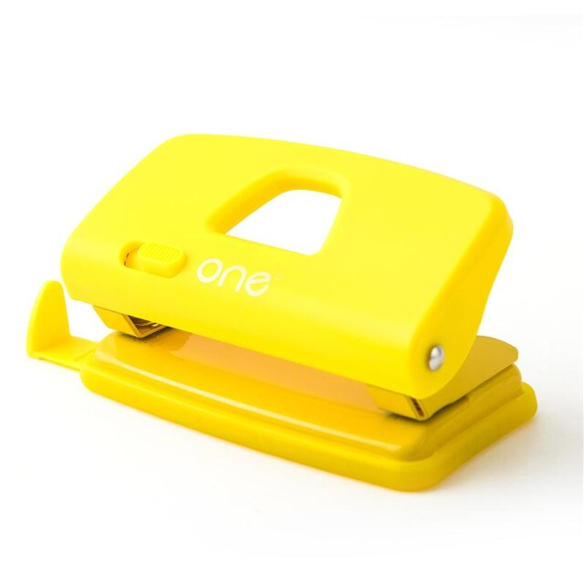 ONE 3918YL Paper Punch Yellow