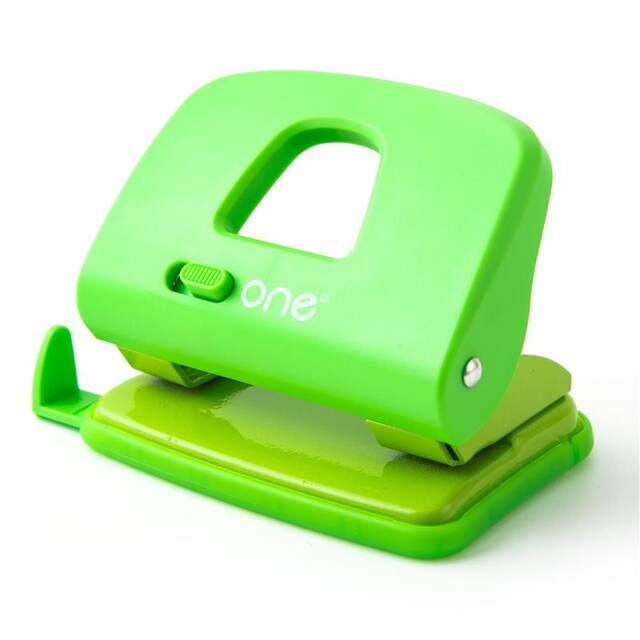 ONE 3928GR Paper Punch Green