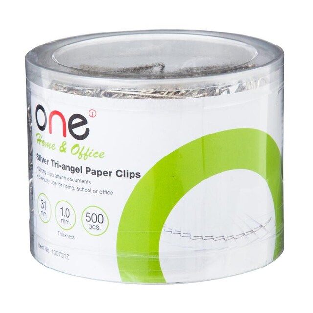 ONE 100731Z Paper Clip 31mm. Silver