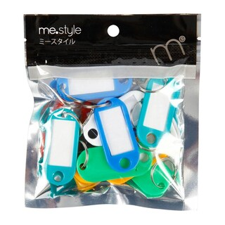 Plastic Key Tag Asst. Colors (14/Bag)