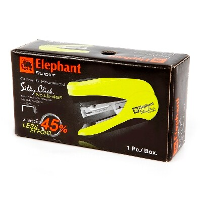 Stapler Assorted Colors Elephant LE-45F