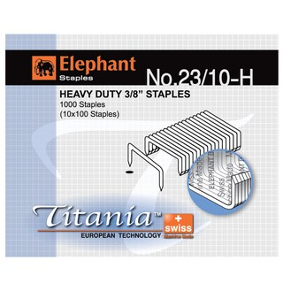 Staples Titania Elephant No.23/10-H