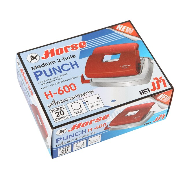 Paper Punch Horse H-600