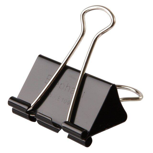Elephant E109 Binder Clip 40 mm. 12/Box