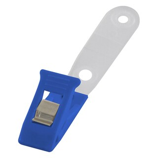Badge Clip Blue (100/Pack) Sanko BP