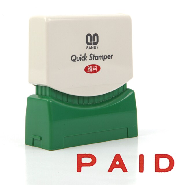 (PAID) Quick Rubber Stamp Sanby P-25