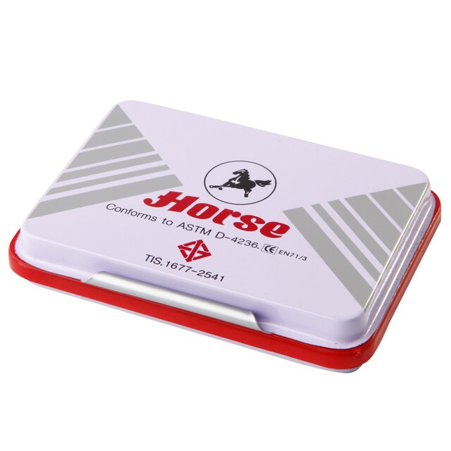 Stamp Pad Red Horse 4