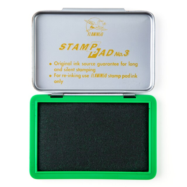 Stamp Pad Green Flamingo 2