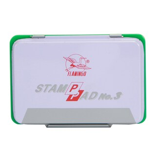 Stamp Pad Green Flamingo 3
