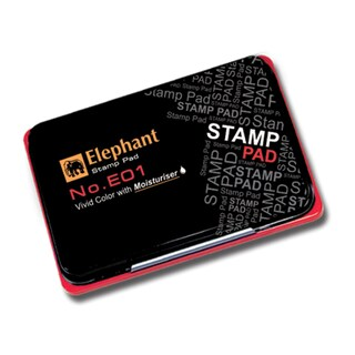 Stamp Pad Red Elephant E01R