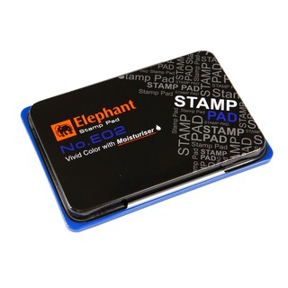 Stamp Pad Blue Elephant E02B