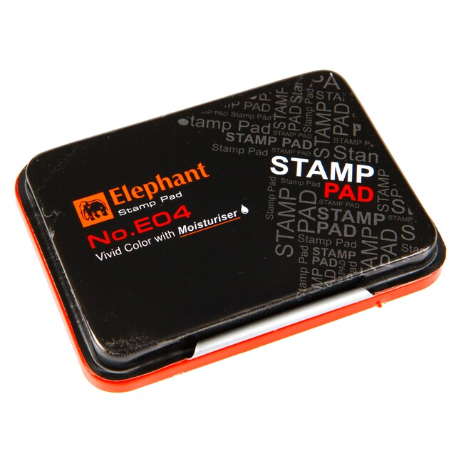 Elephant E04R Stamp Pad Red
