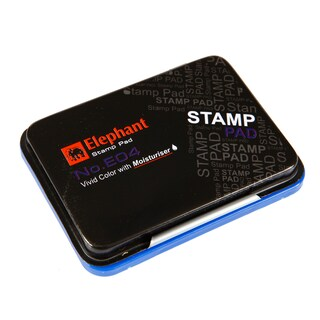 Stamp Pad Blue Elephant E04B
