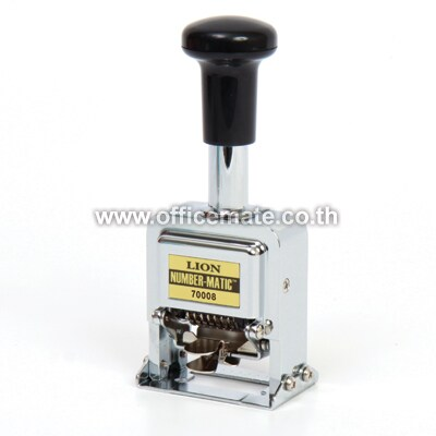 Lion 70006 Numbering Machine 6 Digits