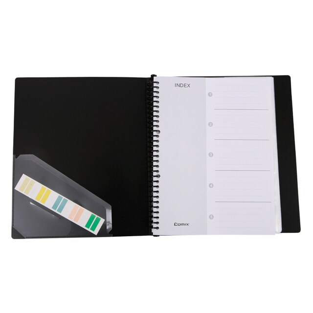 Name Card File Black Comix SC-600