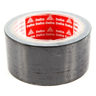 "Cloth Tape 2""x9 y Black เดลต้า"