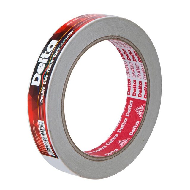 Double Sided Tape 18MM.x20Y/White เดลต้า