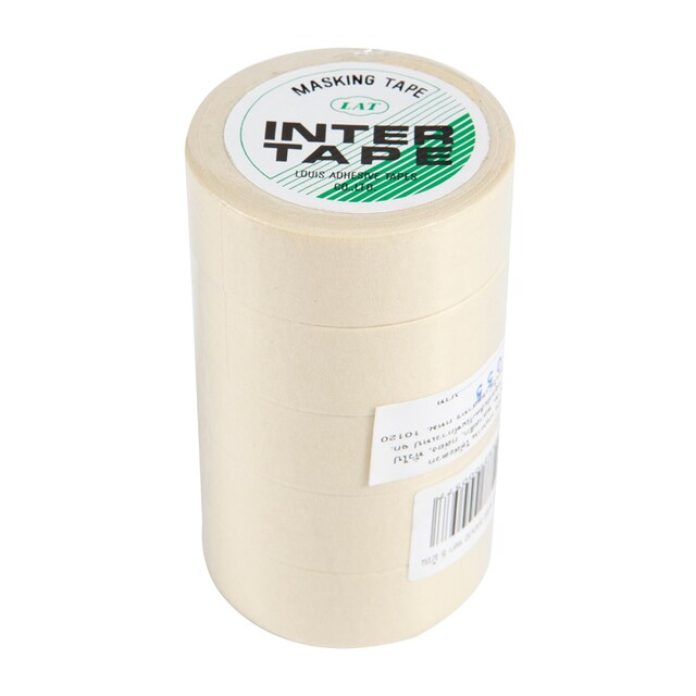 "Masking Tape 3/4""x10 y. (5/Pack) INTER"