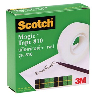 "Tape 3/4""x25y Scotch 810"