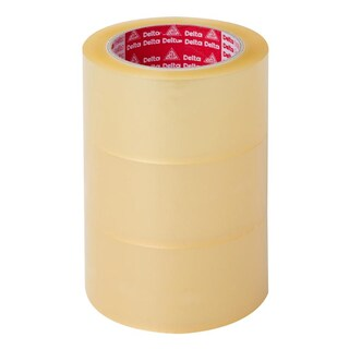 "OPP Tape 2""x100y (3/Pack) Clear เดลต้า"