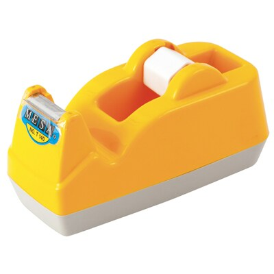 "MESA T-140 Tape Dispenser 1"" Yellow"