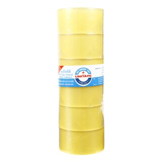 "OPP Tape 2""x45y. (6/pack) Clear Unitape Non Series"