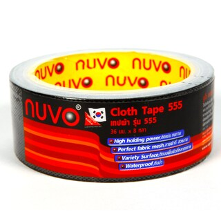 Cloth Tape 36mm.x8y. Black