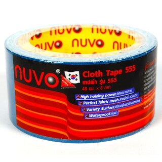 Cloth Tape 48mm.x8y. Blue