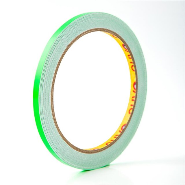 Marking Tape 5mm.x9y. Reflective green นูโว