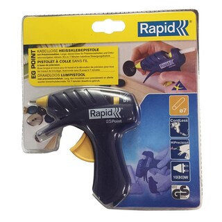 Hot Melt Glue Gun Blue Rapid point