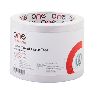 Double Coated Tissue Tape 24mm.x20y (3/Pack) ONE
