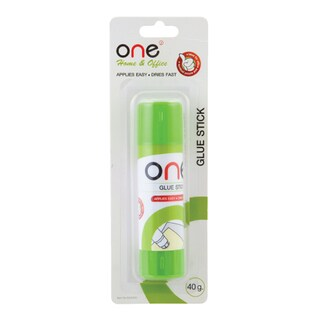 Glue Stick 40 g. White ONE