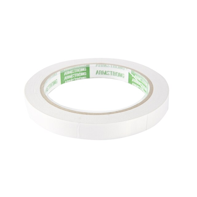 """Double Coated Tissue Tape 1/2""""x20y. Armstrong TP-601WC"""