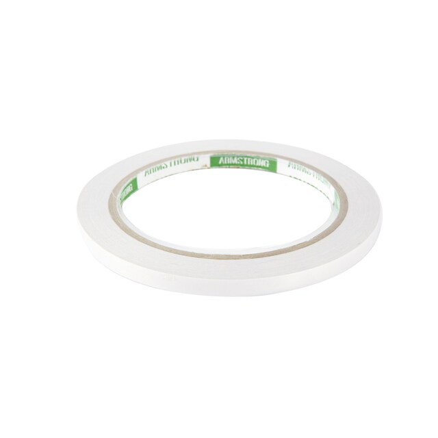 "Double Coated Tissue Tape 1/4""x20y. Armstrong TP-601WC"